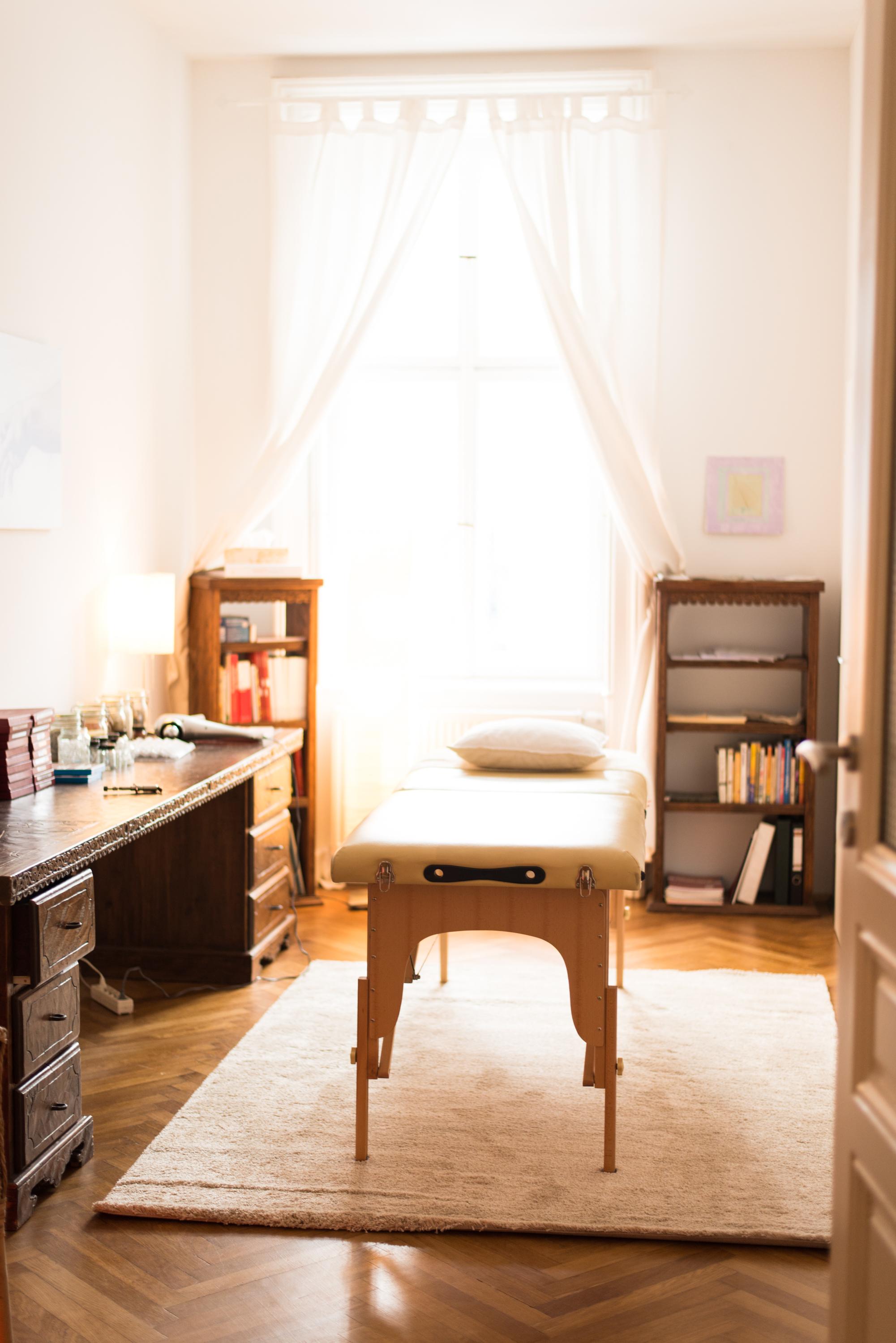 Praxiszimmer für Allergie-Behandlung